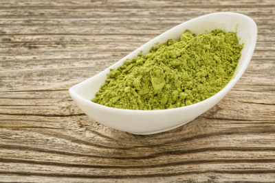 Moringa in Pulverform